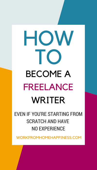 Need to know how to become a freelance writer? This post will show you how! It's got great ideas for beginners who want to become a freelance writer but are totally clueless on how to get started. Don't worry, you don't need any professional experience to become a freelance writer!