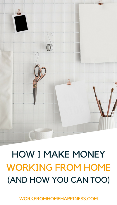 How I make money working from home (and how you can too). It's simper than you think!