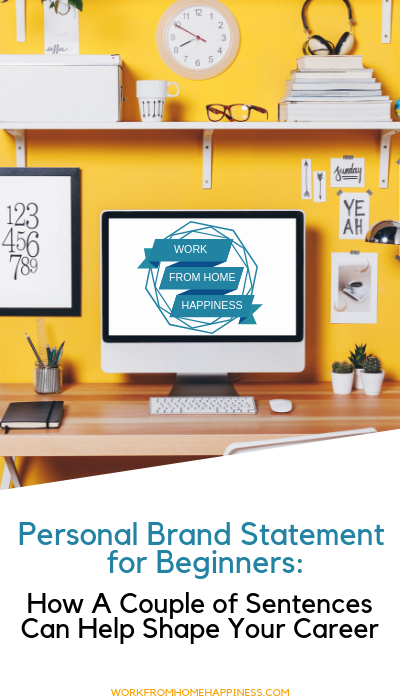 What's a personal brand statement? And why do you need one? Learn the basics of writing a solid personal brand statement and how it can help change your career!