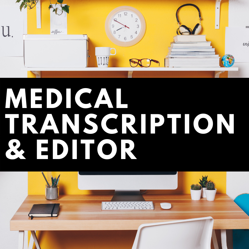 how to become a medical transcriptionist online