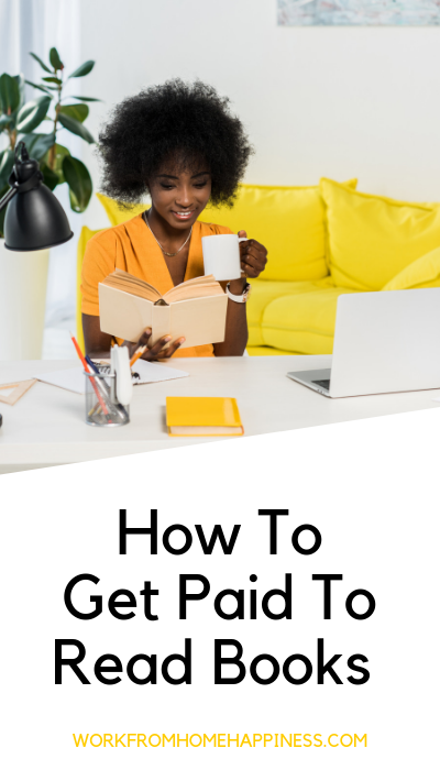 You really can get paid to read books. Here's how.