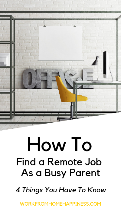 Is it even possible to work remote jobs as a busy parent? You bet! Here's how (and what you need to know).
