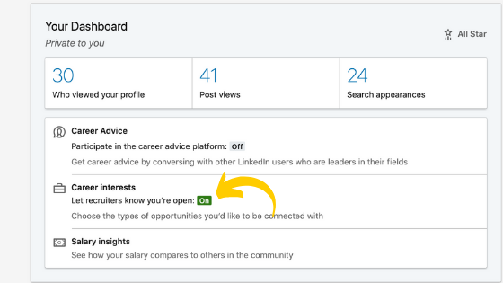 Here's how you can use Open Candidates on LinkedIn to get found by recruiters!
