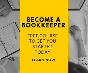 want to become a bookkeeper from home? this course will show you how!
