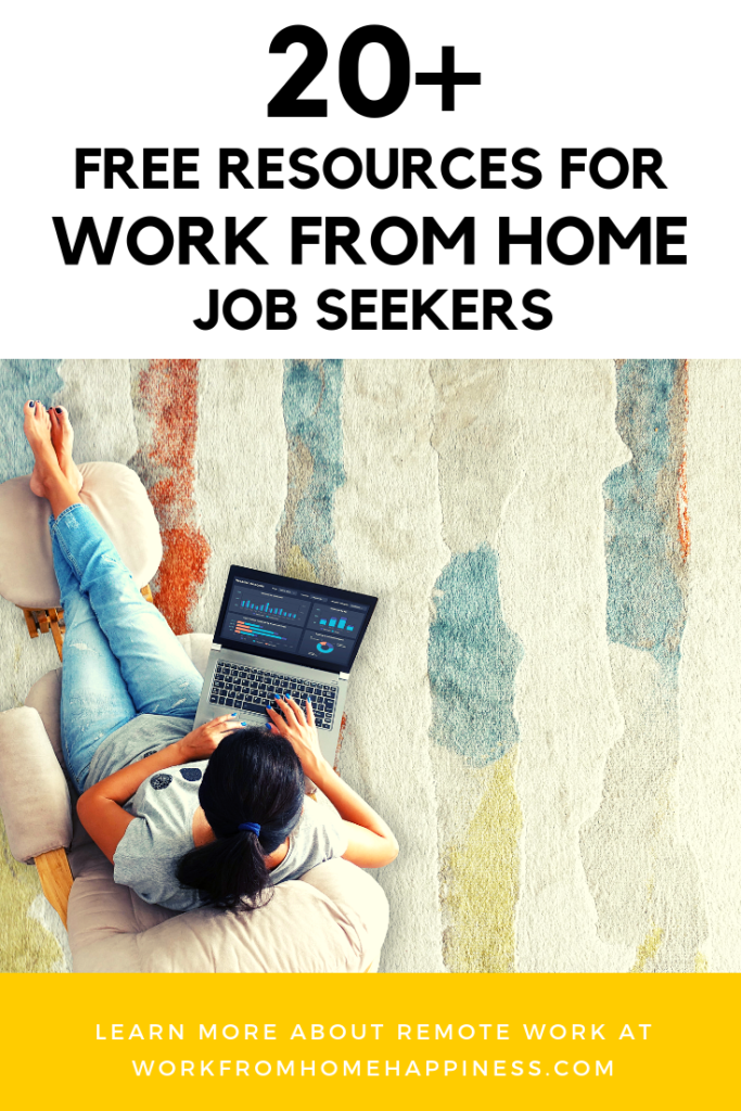 Want to find a remote job? These free work from home resources can help you do just that.