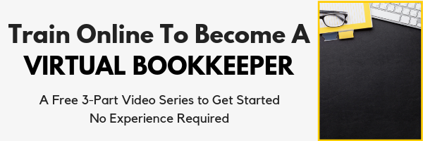 Train online to become a virtual bookkeeper so you can work from home. This course will show you how.