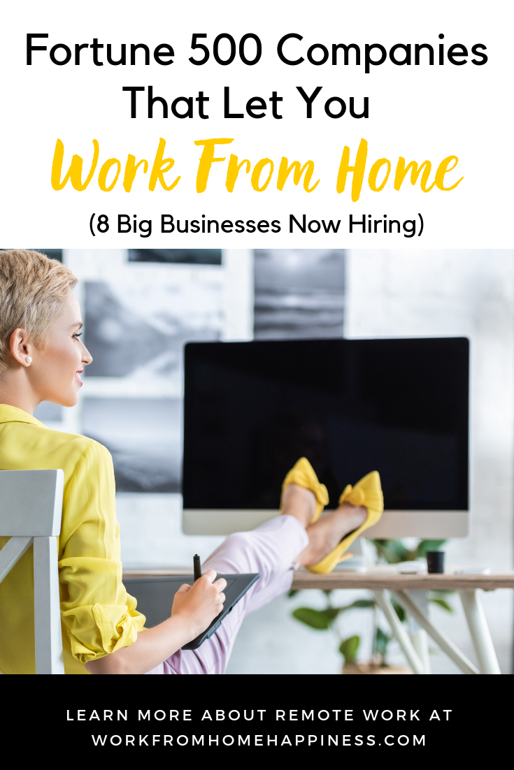 Fortune 500 Jobs From Home: 8 Big Businesses Now Hiring!