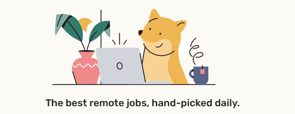 Find remote work today using Remotive!