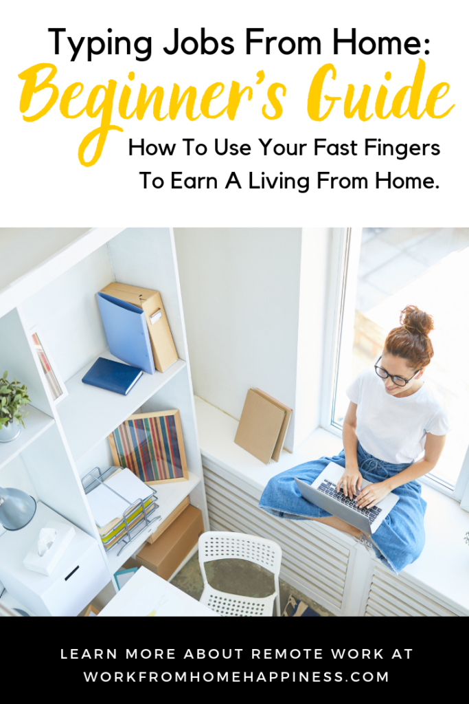 Typing Jobs From Home: 6 Options For Fast Typers