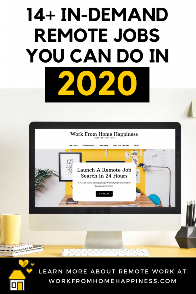 In-Demand Remote Jobs You Can Start in 2020 (and Beyond!)