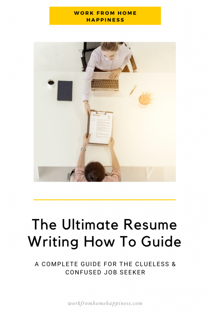 Resume writing is tough. Make it a little bit easier with this ultimate resume writing how to guide.