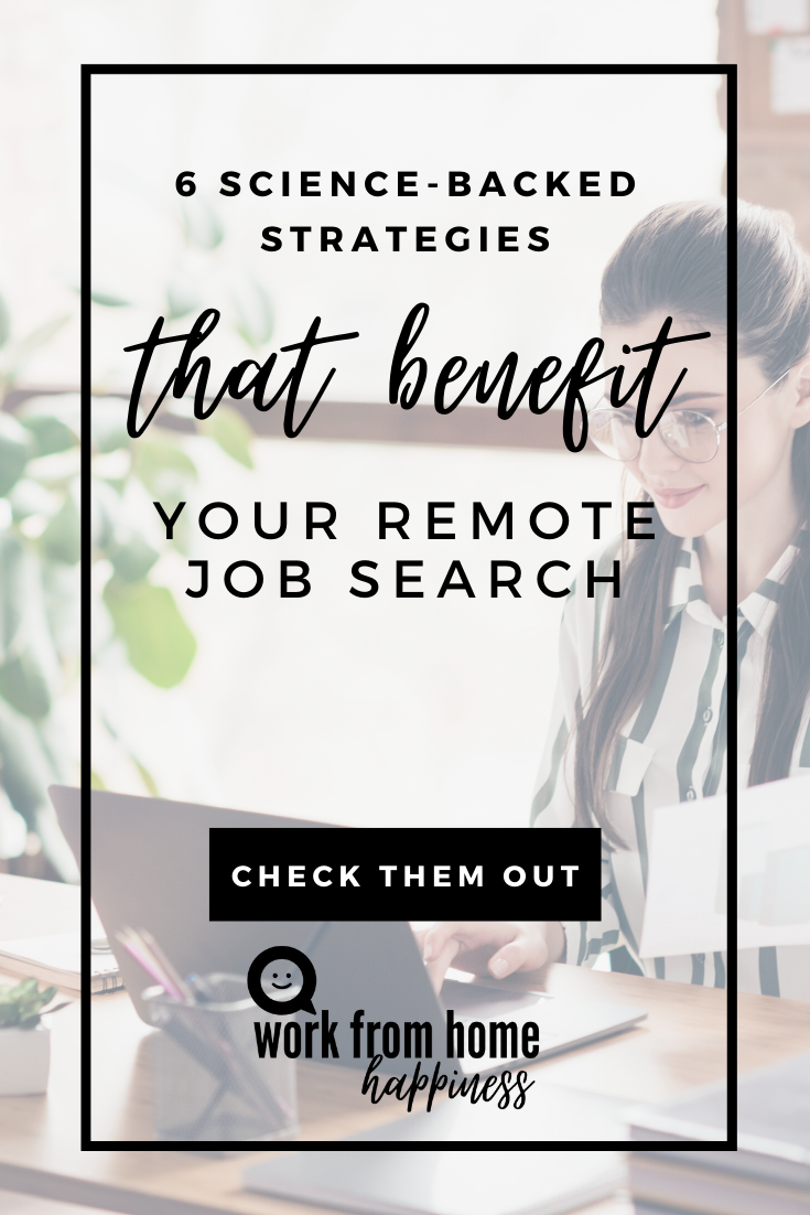 6 Science-Backed Strategies That Benefit Your Remote Job Search